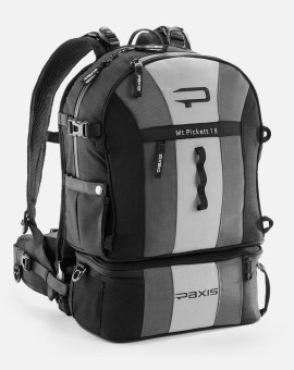 Paxis Pax | Mt Pickett 18 | Grey Black Backpack
