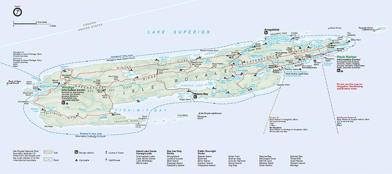 Navigating the Island Royale National Park