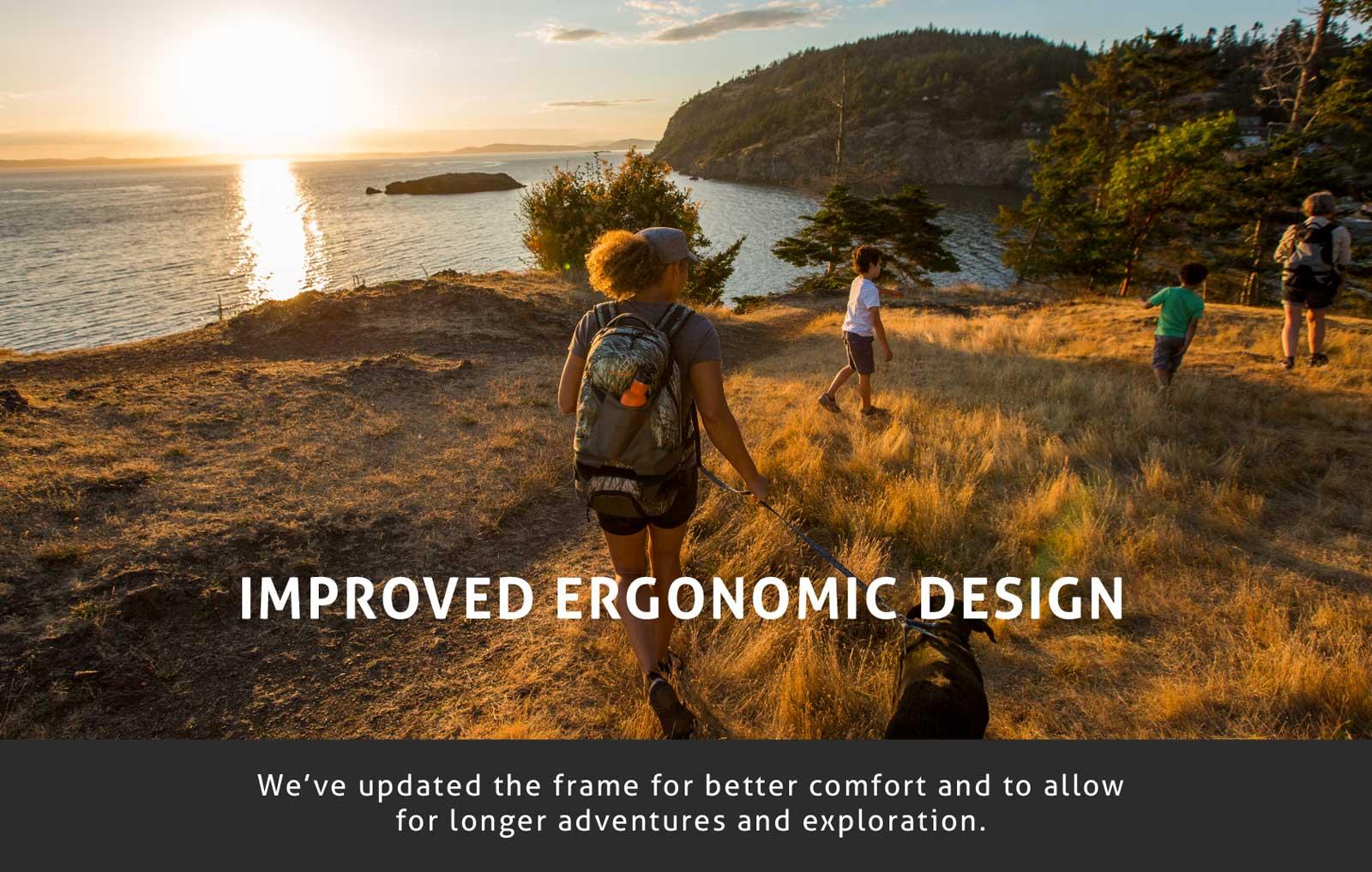 Hiking with Kids Ergonomic Design Bacpack