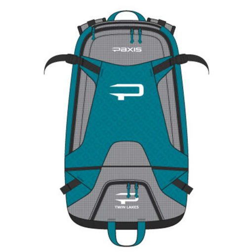 twin lakes paxis backpack mineral teal