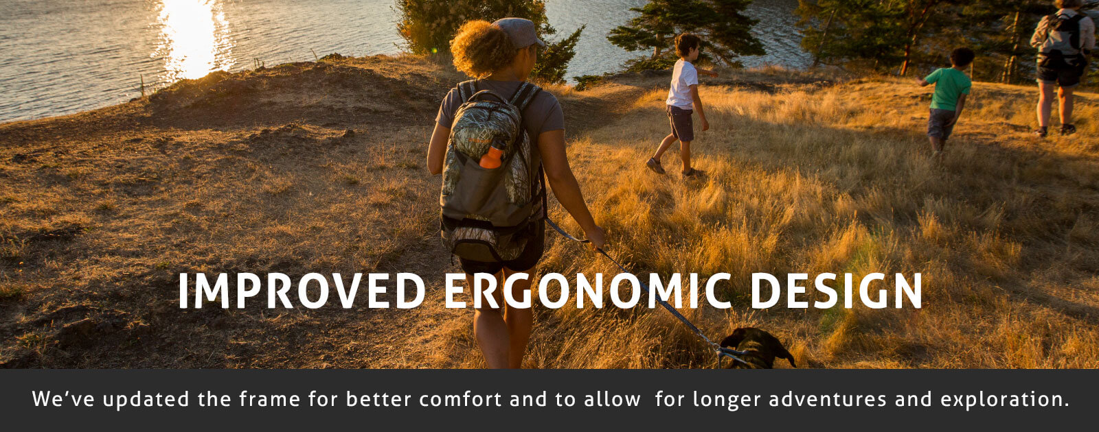 Hiking with Kids Ergonomic Design Bacpack