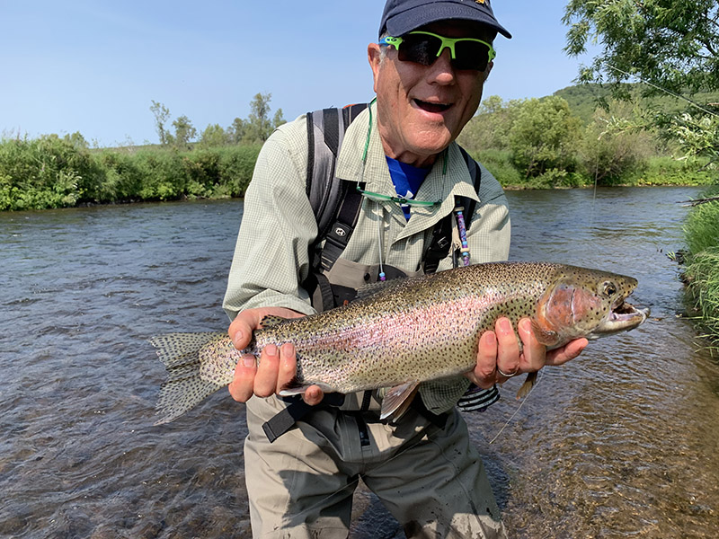 Fly Fishing in Kamchatka
