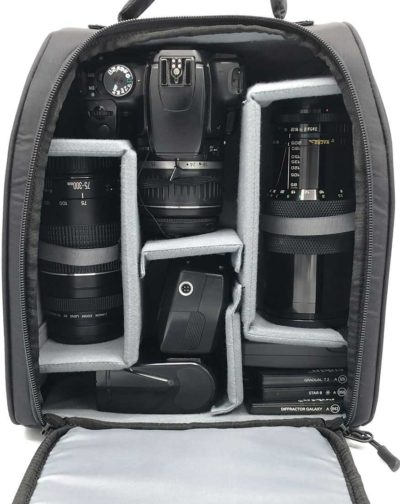 Backpack Camera Storage Solution