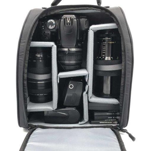 Backpack Camera Storage Solution